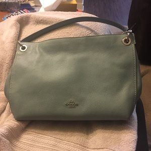 Coach Clarkson hobo in Sage
